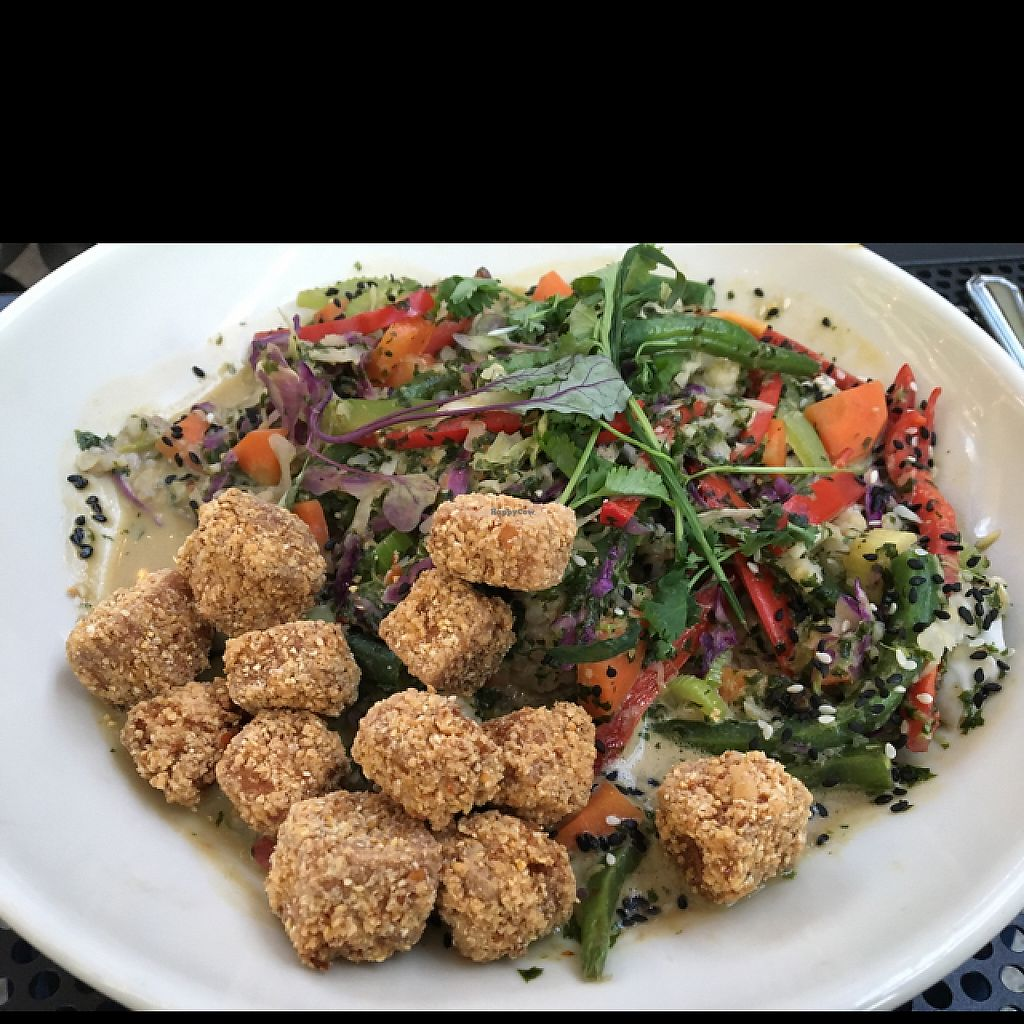 """Photo of French Meadow Bakery and Cafe  by <a href=""""/members/profile/JJones315"""">JJones315</a> <br/>Green coconut curry with tofu  <br/> May 8, 2017  - <a href='/contact/abuse/image/51242/257011'>Report</a>"""