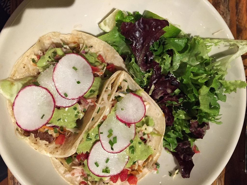 """Photo of Bluestem Bar  by <a href=""""/members/profile/AmandaClarkReed"""">AmandaClarkReed</a> <br/>Blackened tempeh tacos <br/> April 17, 2016  - <a href='/contact/abuse/image/51244/206851'>Report</a>"""