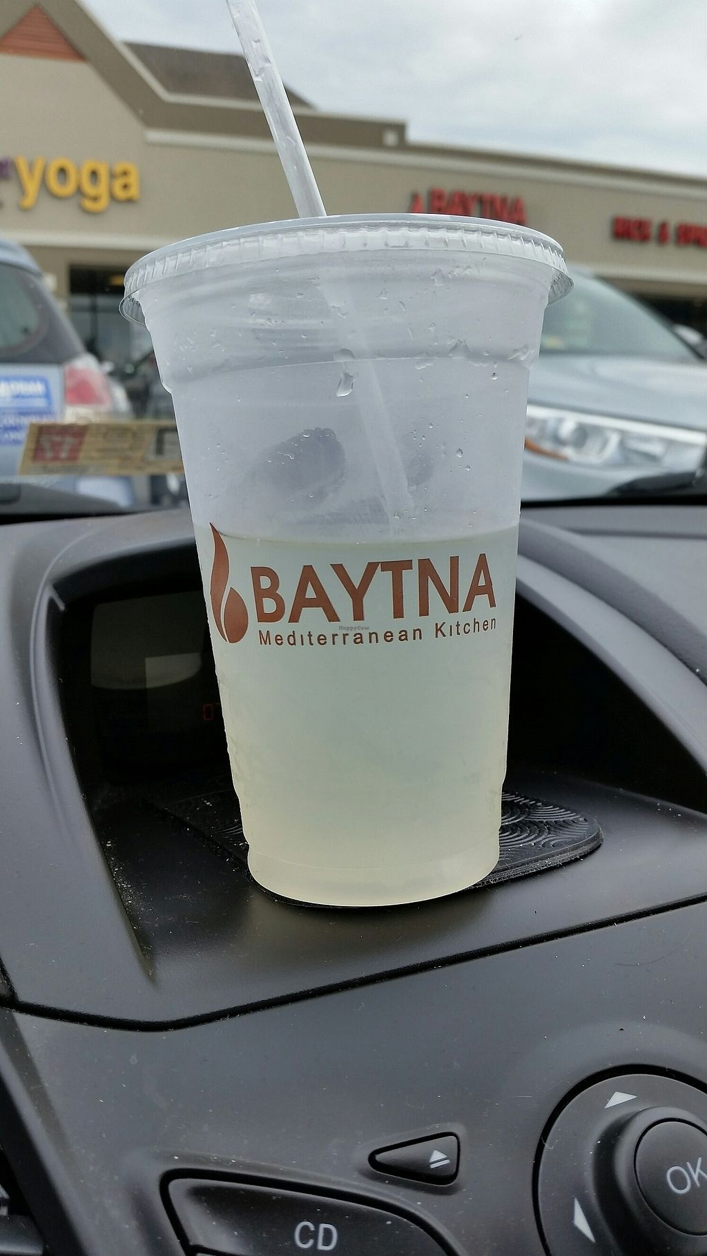 """Photo of CLOSED: Baytna Mediterranean Kitchen  by <a href=""""/members/profile/TheCopperValkyrie"""">TheCopperValkyrie</a> <br/>mint infused lemonade  <br/> July 29, 2017  - <a href='/contact/abuse/image/51252/286425'>Report</a>"""
