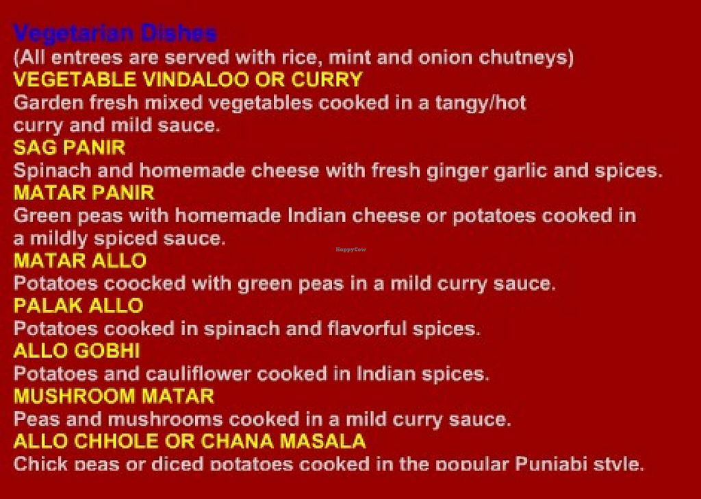 """Photo of Sitar Indian Cuisine  by <a href=""""/members/profile/community"""">community</a> <br/>Sitar Indian Cuisine <br/> September 12, 2014  - <a href='/contact/abuse/image/51266/79678'>Report</a>"""