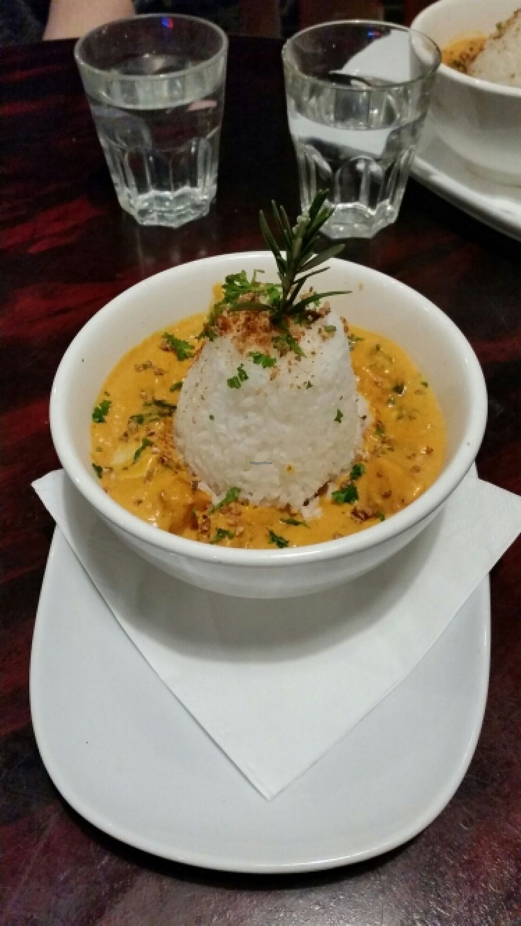"Photo of Midnight Espresso Bar  by <a href=""/members/profile/AndyTheVWDude"">AndyTheVWDude</a> <br/>Pumpkin Spinach Tofu Curry - May 2016 - Tasty! <br/> May 30, 2016  - <a href='/contact/abuse/image/5126/151452'>Report</a>"