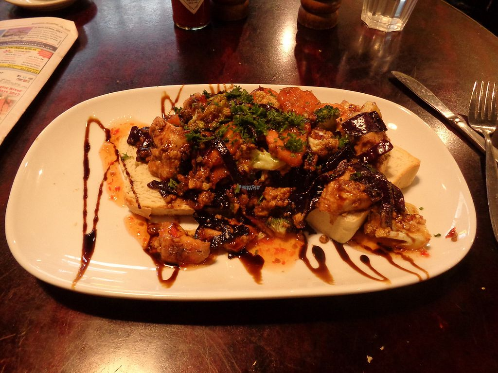 "Photo of Midnight Espresso Bar  by <a href=""/members/profile/citizenInsane"">citizenInsane</a> <br/>Midnight Espresso, scrambled tofu on toast <br/> November 27, 2016  - <a href='/contact/abuse/image/5126/195041'>Report</a>"