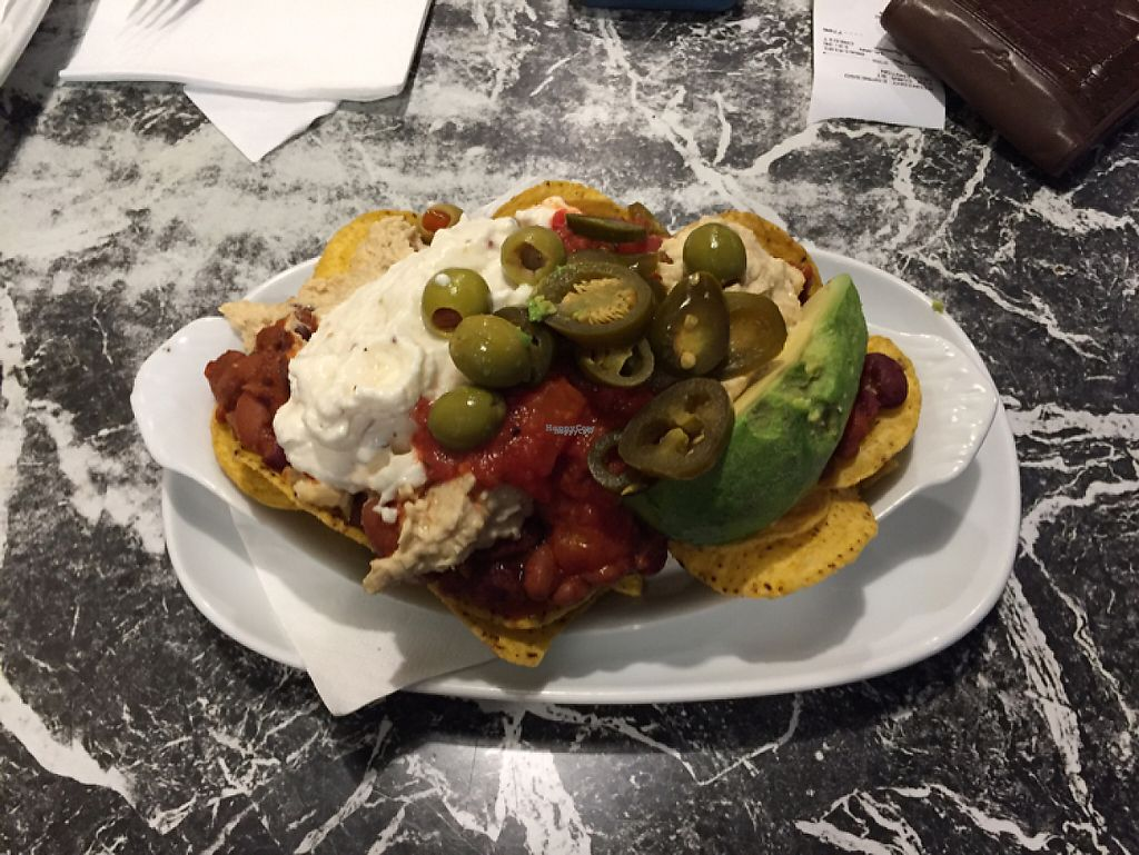 "Photo of Midnight Espresso Bar  by <a href=""/members/profile/vegies28"">vegies28</a> <br/>Vegan Nachos! <br/> January 30, 2017  - <a href='/contact/abuse/image/5126/219493'>Report</a>"