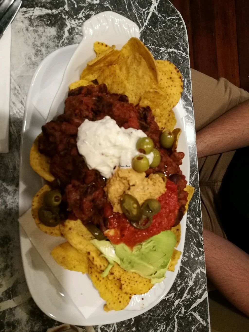 "Photo of Midnight Espresso Bar  by <a href=""/members/profile/Felicious"">Felicious</a> <br/>Large vegan nachos <br/> March 11, 2018  - <a href='/contact/abuse/image/5126/369447'>Report</a>"