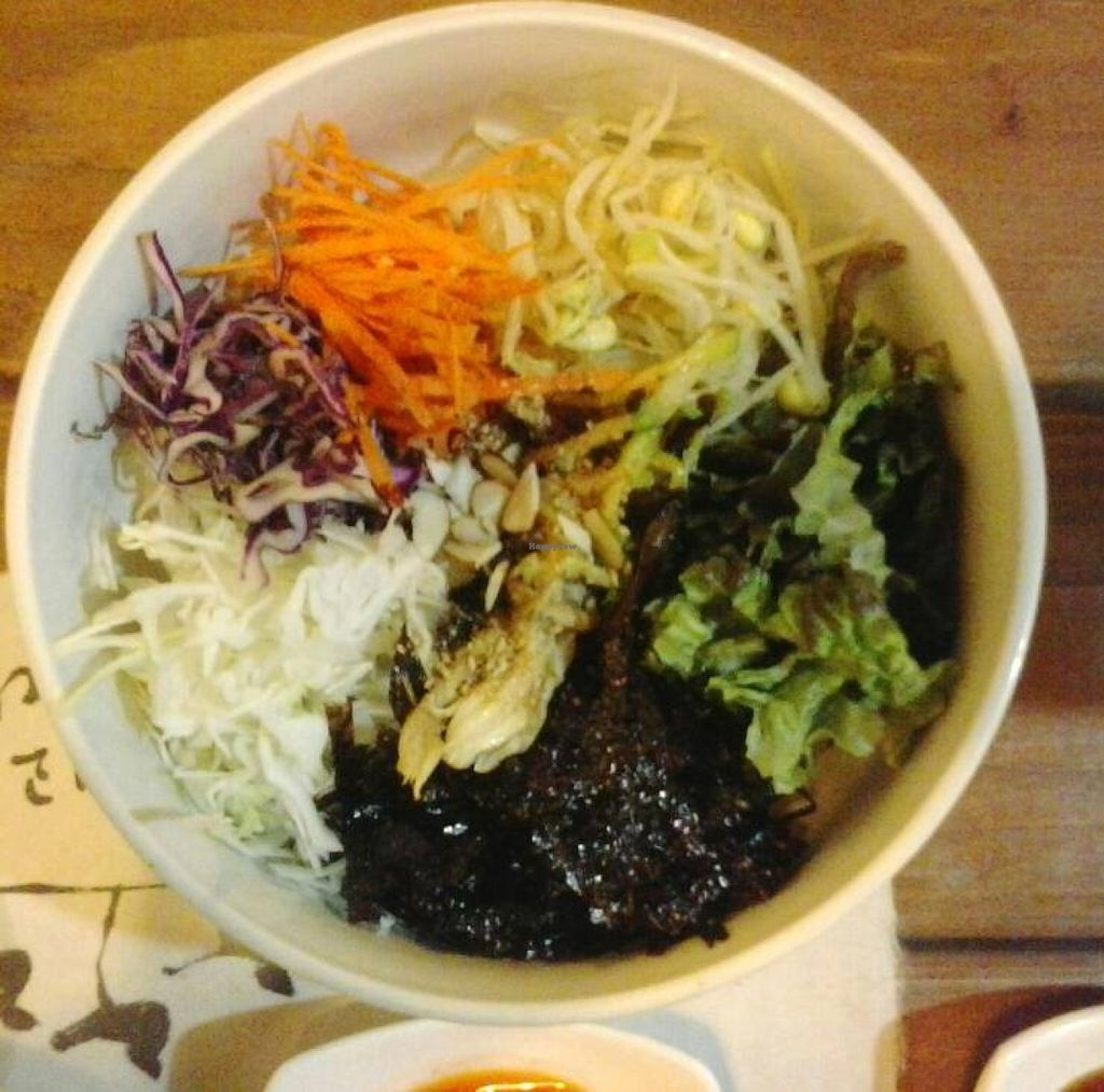 "Photo of Dajeon Cafe  by <a href=""/members/profile/vegan_simon"">vegan_simon</a> <br/>Mixed veges, mushrooms and rice <br/> October 25, 2015  - <a href='/contact/abuse/image/51276/122614'>Report</a>"