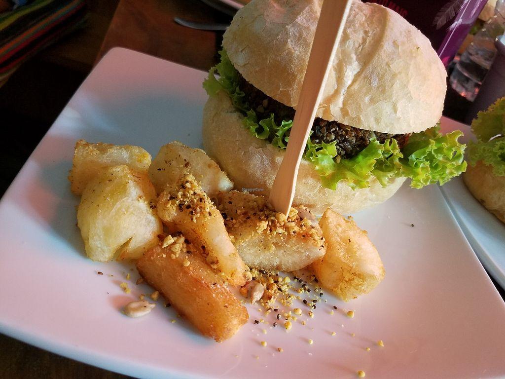 "Photo of Prana Cozinha Vegetariana  by <a href=""/members/profile/KarimKanfoudi"">KarimKanfoudi</a> <br/>Quinoa Burger <br/> May 10, 2016  - <a href='/contact/abuse/image/51294/148342'>Report</a>"