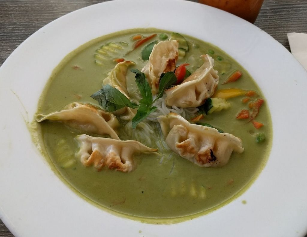 """Photo of Vegan Glory  by <a href=""""/members/profile/Sonja%20and%20Dirk"""">Sonja and Dirk</a> <br/>curry dumplings <br/> July 28, 2016  - <a href='/contact/abuse/image/5129/194485'>Report</a>"""