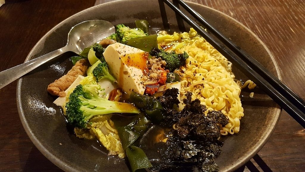 """Photo of Vege Creek - Eslite DunNan  by <a href=""""/members/profile/vegspringroll"""">vegspringroll</a> <br/>Delicious noodles! <br/> April 21, 2017  - <a href='/contact/abuse/image/51320/250589'>Report</a>"""