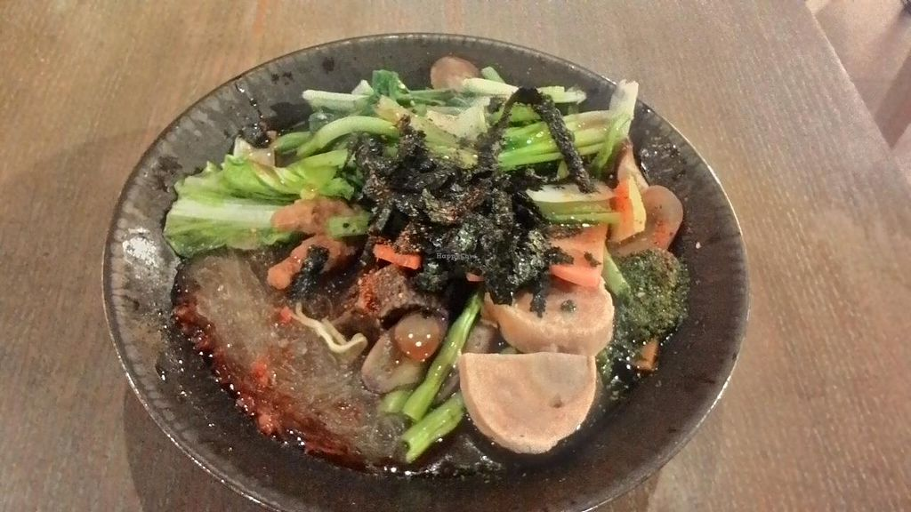 """Photo of Vege Creek - Eslite DunNan  by <a href=""""/members/profile/JesseD"""">JesseD</a> <br/>typical meal - great value at 200NT <br/> March 13, 2015  - <a href='/contact/abuse/image/51320/95685'>Report</a>"""