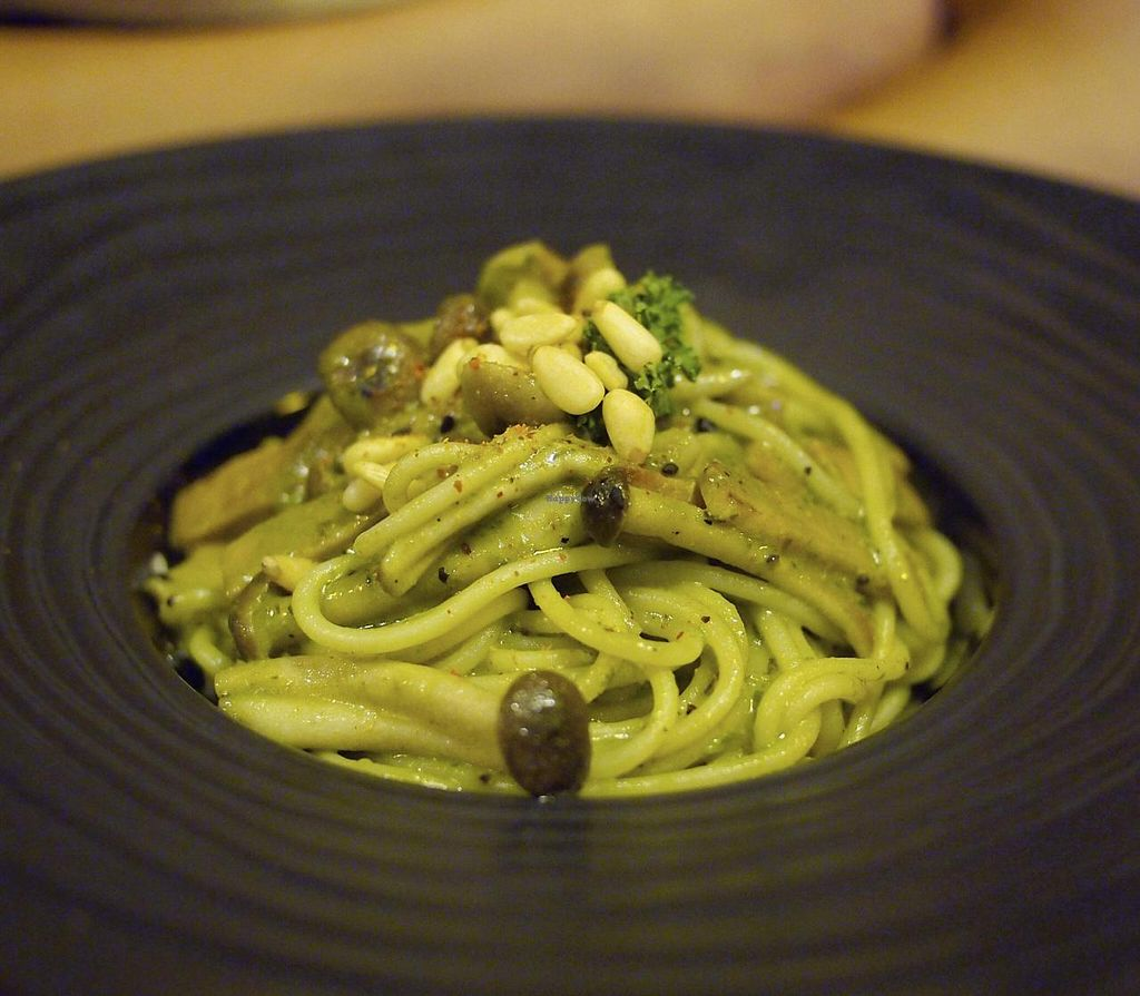 """Photo of Soul R. Vegan Cafe  by <a href=""""/members/profile/bluesomeone"""">bluesomeone</a> <br/>pasta <br/> September 14, 2014  - <a href='/contact/abuse/image/51321/79955'>Report</a>"""