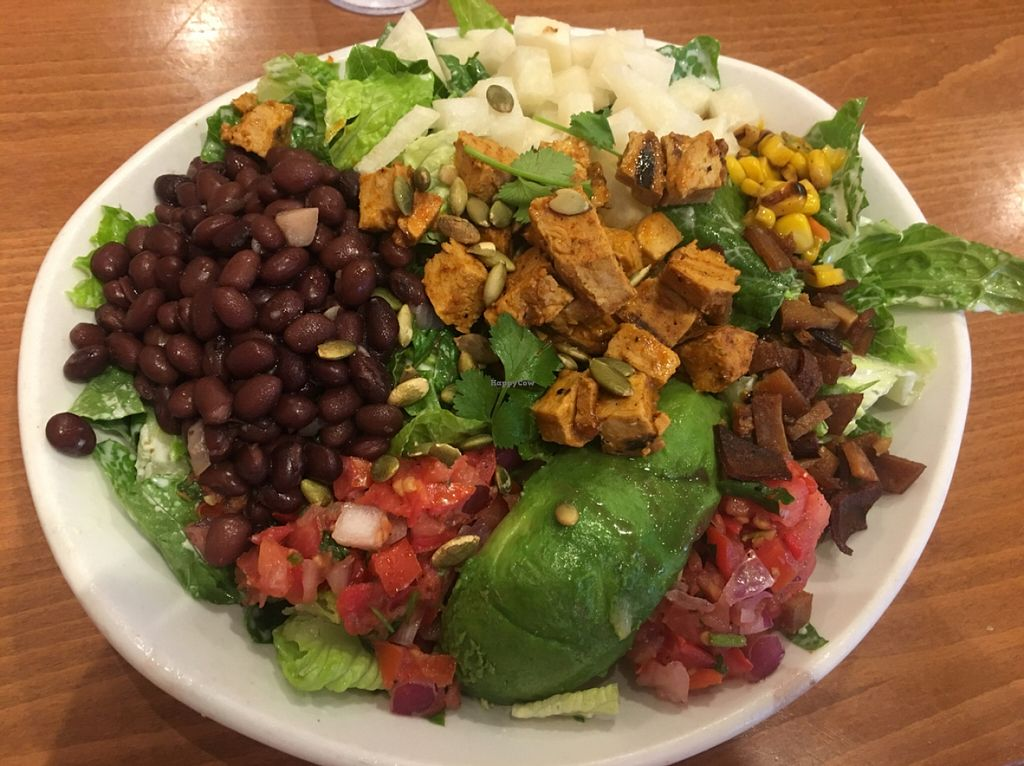 """Photo of Native Foods - Claremont Mesa  by <a href=""""/members/profile/Beryl"""">Beryl</a> <br/>healthful and delish salad <br/> December 19, 2015  - <a href='/contact/abuse/image/51357/129147'>Report</a>"""