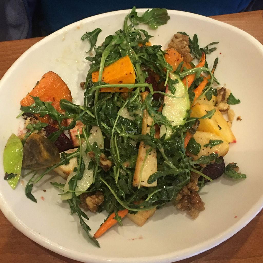 """Photo of Native Foods - Claremont Mesa  by <a href=""""/members/profile/Beryl"""">Beryl</a> <br/>roasted veggies <br/> December 19, 2015  - <a href='/contact/abuse/image/51357/129148'>Report</a>"""