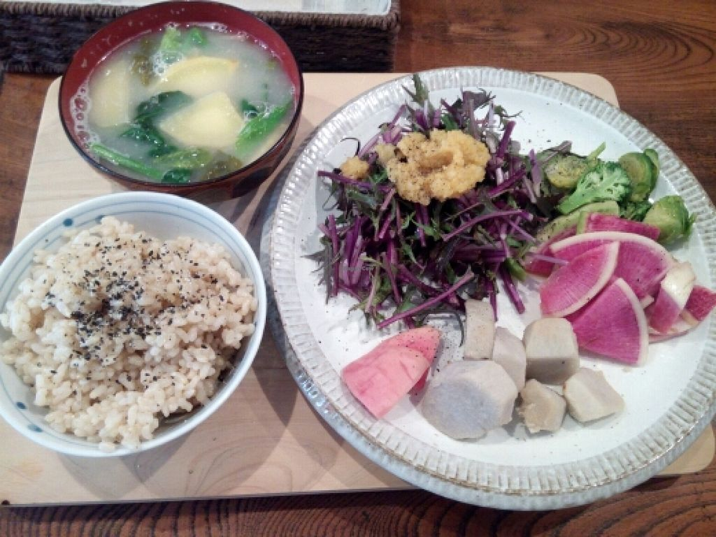 """Photo of CLOSED: Furomae Cafe  by <a href=""""/members/profile/freesiaoriental"""">freesiaoriental</a> <br/>vegetable lunch set <br/> February 22, 2016  - <a href='/contact/abuse/image/51367/137375'>Report</a>"""