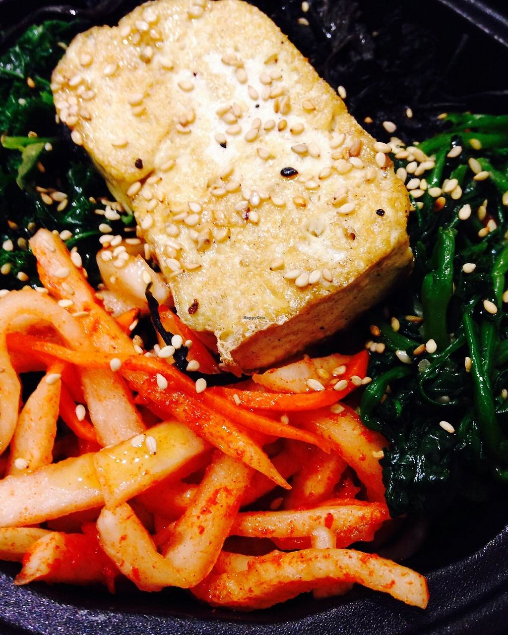 "Photo of Triple B Fresh  by <a href=""/members/profile/cookiem"">cookiem</a> <br/>Make your own bibimbap with tofu + 4 veggies + rice (brown, white or black) <br/> February 19, 2015  - <a href='/contact/abuse/image/51417/191567'>Report</a>"