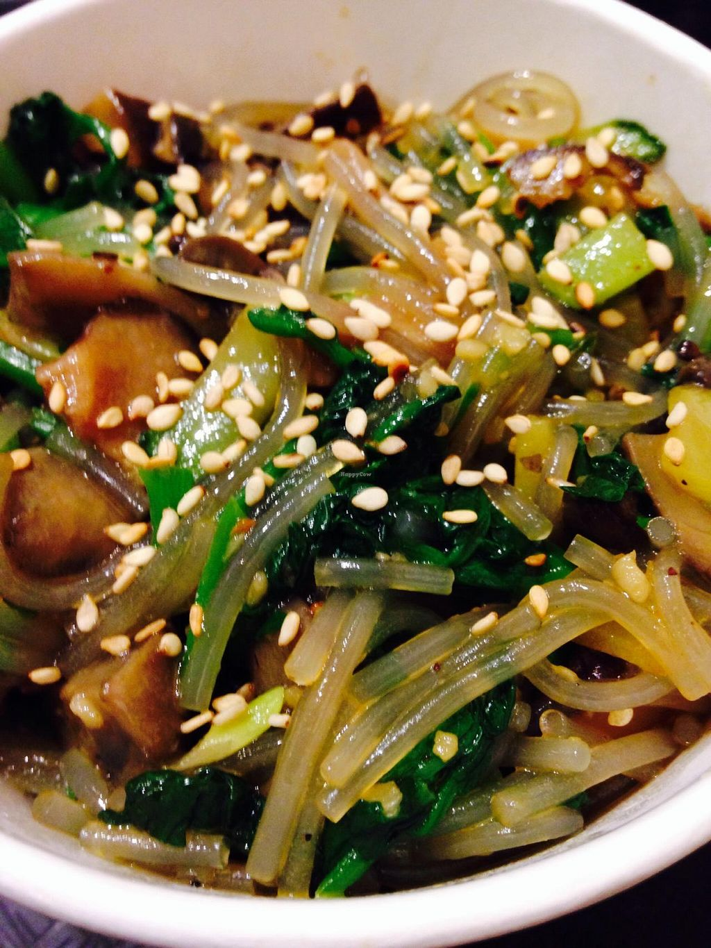 "Photo of Triple B Fresh  by <a href=""/members/profile/cookiem"">cookiem</a> <br/>Small japchae with plenty of veggies and mushrooms <br/> February 19, 2015  - <a href='/contact/abuse/image/51417/93530'>Report</a>"