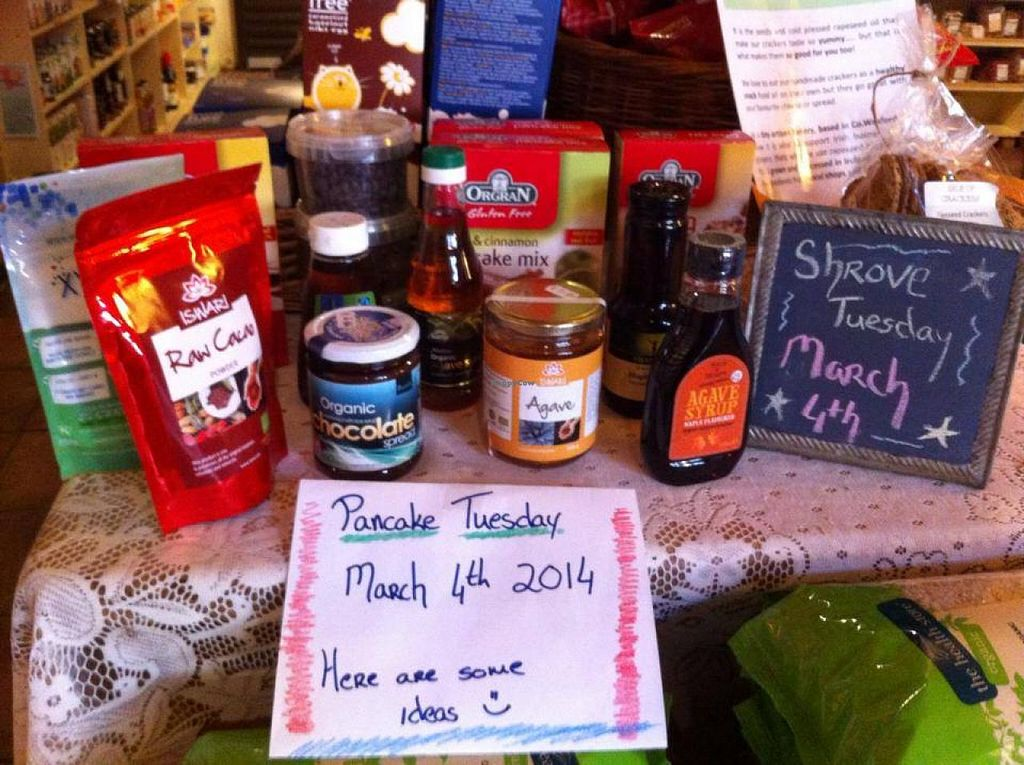 "Photo of Mrs. Bee's Healthy Options  by <a href=""/members/profile/Venusr84"">Venusr84</a> <br/>Vegan pancakes Tuesday 4th march.... Think I'll start practicing now  <br/> October 3, 2014  - <a href='/contact/abuse/image/51430/82042'>Report</a>"