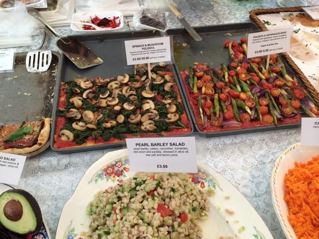 "Photo of Vegan Garden London - Food Stand  by <a href=""/members/profile/Tomericko"">Tomericko</a> <br/>:) <br/> November 9, 2014  - <a href='/contact/abuse/image/51473/85092'>Report</a>"