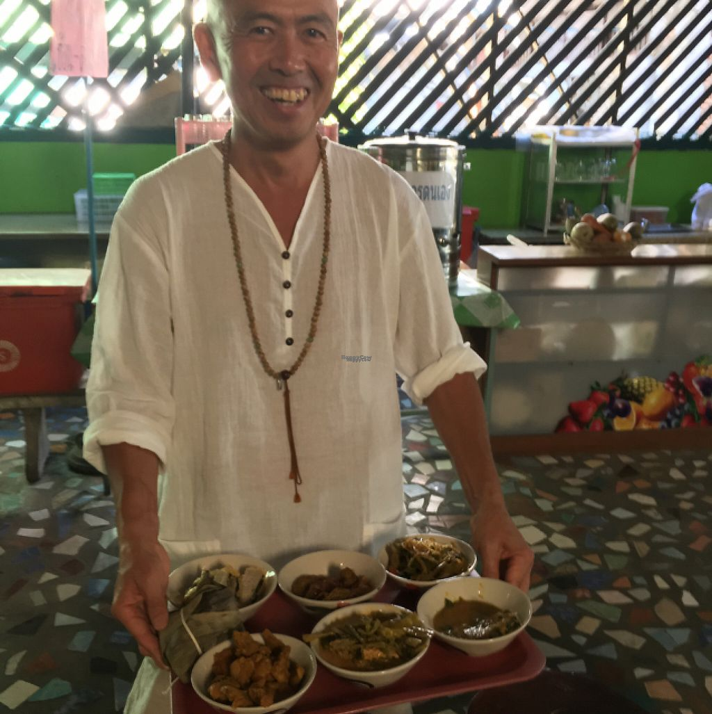 "Photo of Tamachat  by <a href=""/members/profile/happycyclist"">happycyclist</a> <br/>My very happy vegan monk from Japan :)  <br/> January 30, 2017  - <a href='/contact/abuse/image/5147/219589'>Report</a>"