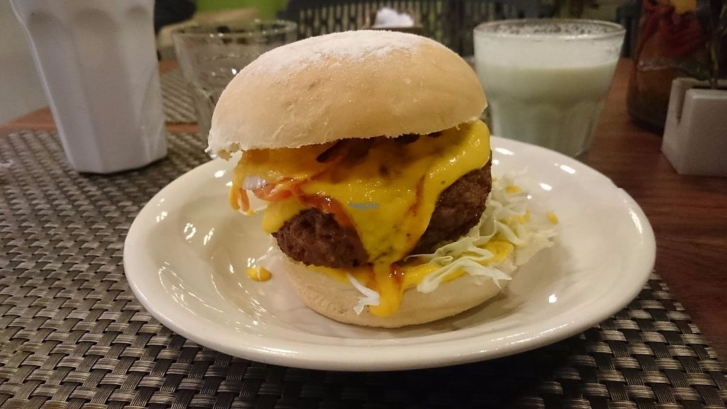 """Photo of Juicesabel  by <a href=""""/members/profile/peas-full"""">peas-full</a> <br/>Great cheese burger <br/> December 12, 2016  - <a href='/contact/abuse/image/51511/200216'>Report</a>"""