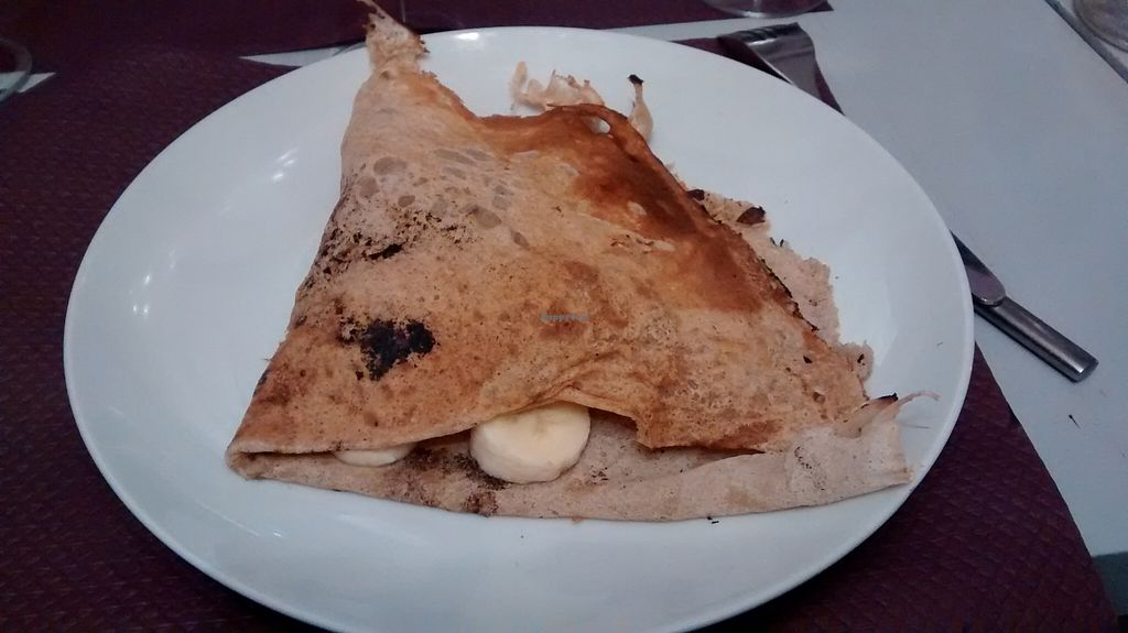 """Photo of CLOSED: Divine Victorine  by <a href=""""/members/profile/JonJon"""">JonJon</a> <br/>Vegan crêpe with dark chocolate and bananas <br/> October 29, 2015  - <a href='/contact/abuse/image/51514/123088'>Report</a>"""