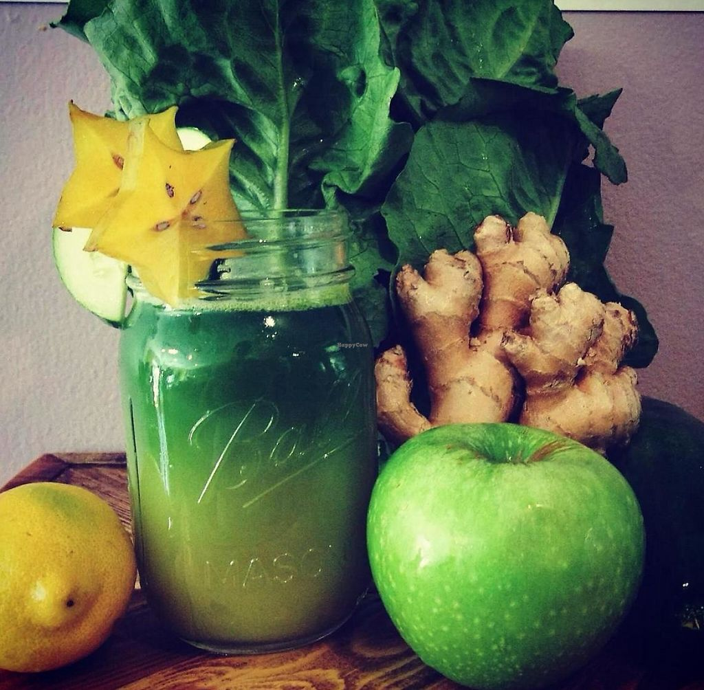 """Photo of JuiceBuzz  by <a href=""""/members/profile/jaxjuice"""">jaxjuice</a> <br/>JuiceBuzz organic local  <br/> October 5, 2014  - <a href='/contact/abuse/image/51524/195527'>Report</a>"""