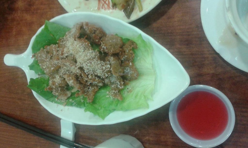 """Photo of Tin Yu Vegetarian  by <a href=""""/members/profile/Stevie"""">Stevie</a> <br/>Deep fried <br/> April 17, 2015  - <a href='/contact/abuse/image/51528/99327'>Report</a>"""