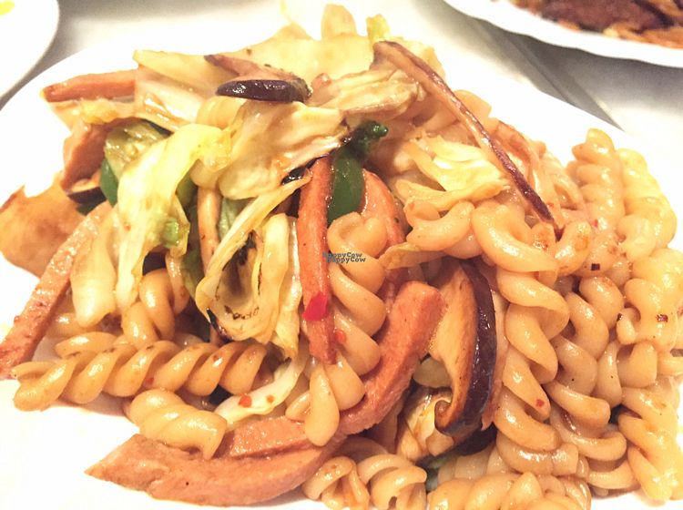 "Photo of Cafe La Fresco Veggie - Enterprises Square  by <a href=""/members/profile/SamanthaIngridHo"">SamanthaIngridHo</a> <br/>Stir-fried Fusilli  <br/> October 22, 2016  - <a href='/contact/abuse/image/51532/183648'>Report</a>"