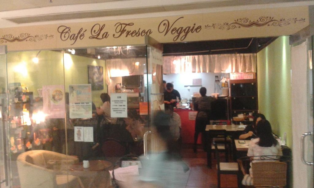 "Photo of Cafe La Fresco Veggie - Enterprises Square  by <a href=""/members/profile/Stevie"">Stevie</a> <br/>Shop front <br/> April 20, 2015  - <a href='/contact/abuse/image/51532/99759'>Report</a>"