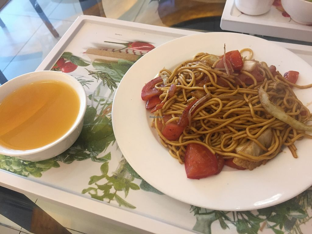"""Photo of Tishifang Tea House - Kowloon Bay  by <a href=""""/members/profile/SamanthaIngridHo"""">SamanthaIngridHo</a> <br/>fried noodles <br/> August 22, 2017  - <a href='/contact/abuse/image/51534/295715'>Report</a>"""