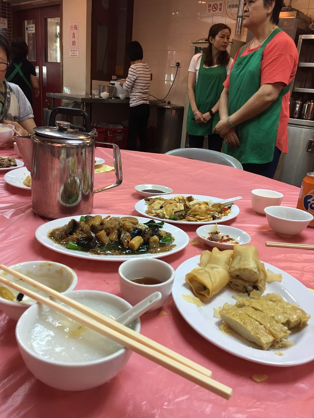 """Photo of Fung Ying Seen Koon Vegetarian Kitchen  by <a href=""""/members/profile/BobbiChina"""">BobbiChina</a> <br/>Our meal <br/> April 5, 2018  - <a href='/contact/abuse/image/51563/381056'>Report</a>"""