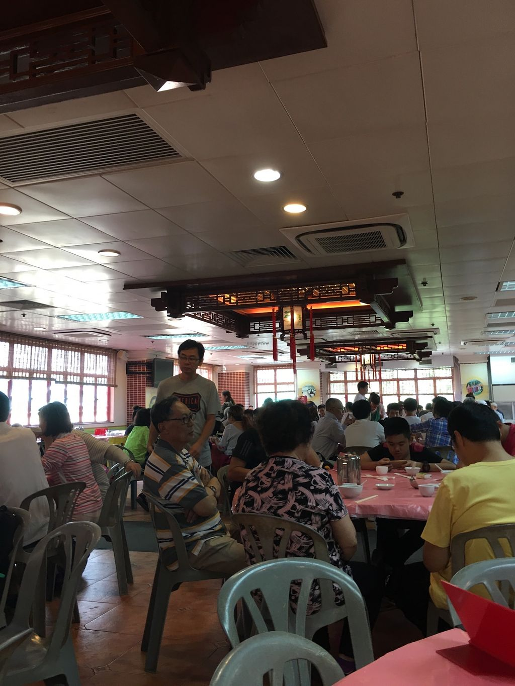 """Photo of Fung Ying Seen Koon Vegetarian Kitchen  by <a href=""""/members/profile/BobbiChina"""">BobbiChina</a> <br/>Inside the restaurant  <br/> April 5, 2018  - <a href='/contact/abuse/image/51563/381057'>Report</a>"""