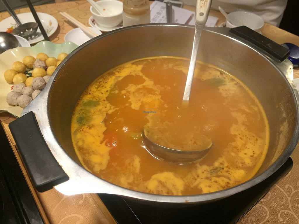 "Photo of Mighty Vegetarian - Yuen Long  by <a href=""/members/profile/SamanthaIngridHo"">SamanthaIngridHo</a> <br/>Hot pot - tom yam soup base <br/> August 22, 2017  - <a href='/contact/abuse/image/51569/295790'>Report</a>"
