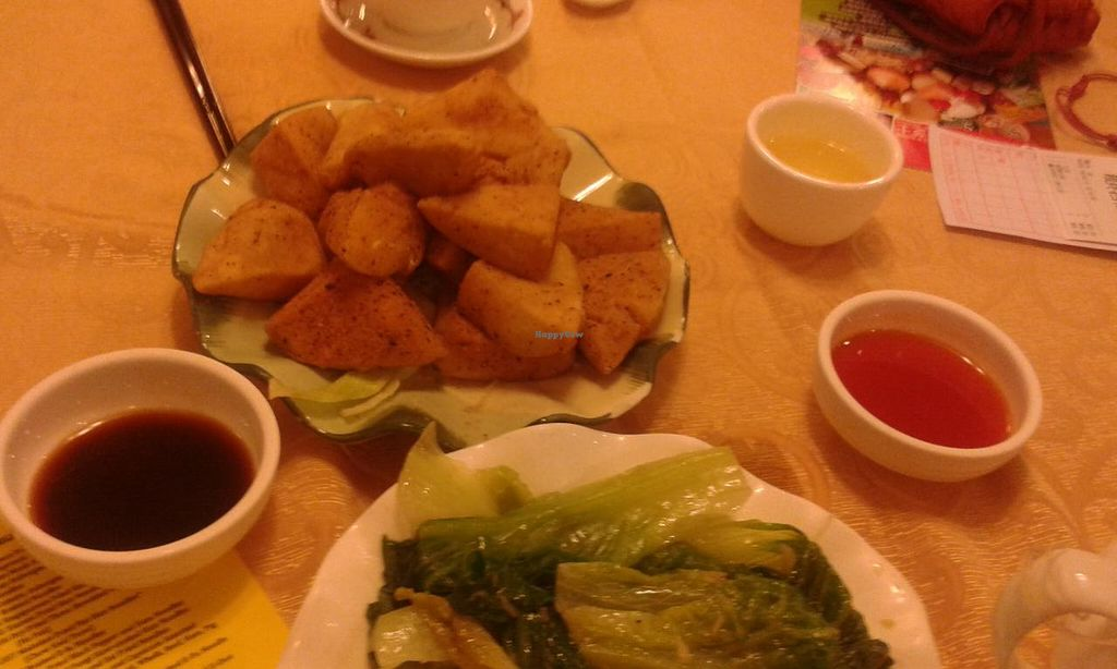 "Photo of Mighty Vegetarian - Yuen Long  by <a href=""/members/profile/Stevie"">Stevie</a> <br/>Food <br/> April 18, 2015  - <a href='/contact/abuse/image/51569/99427'>Report</a>"