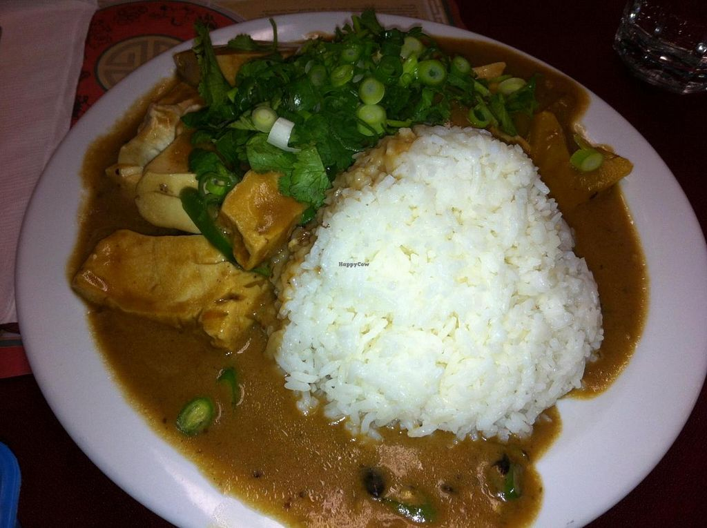 "Photo of Pat's Restaurant  by <a href=""/members/profile/Little%20Laura"">Little Laura</a> <br/>A tofu dish with cilantro and brown ginger sauce <br/> November 19, 2014  - <a href='/contact/abuse/image/51589/86046'>Report</a>"