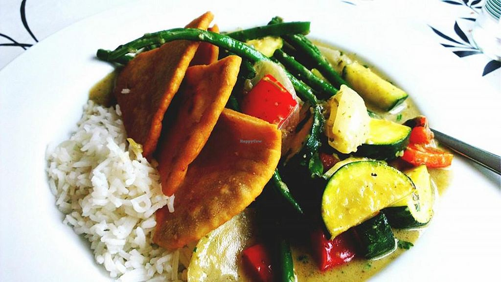 """Photo of Cafe 68 at York Castle Museum  by <a href=""""/members/profile/JoT15"""">JoT15</a> <br/>Tasty Vegan Thai Curry <br/> September 29, 2014  - <a href='/contact/abuse/image/51630/81597'>Report</a>"""