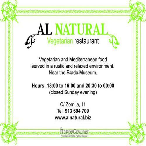 """Photo of Al Natural  by <a href=""""/members/profile/kristen%20gracia"""">kristen gracia</a> <br/> May 1, 2011  - <a href='/contact/abuse/image/5164/8470'>Report</a>"""