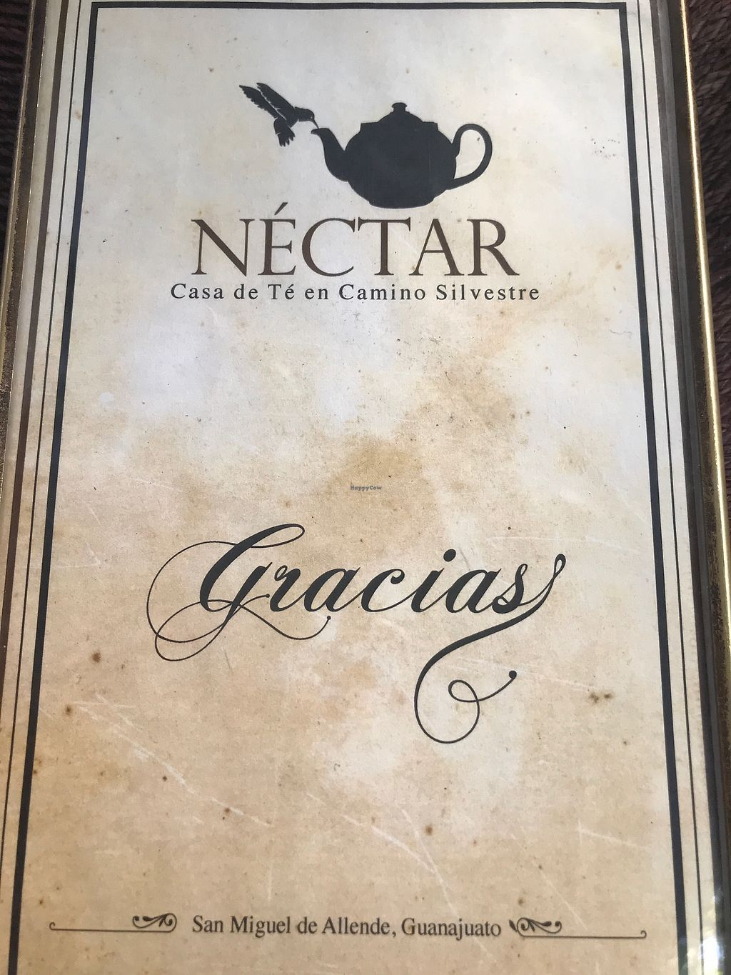"""Photo of Nectar  by <a href=""""/members/profile/MarinKat"""">MarinKat</a> <br/>Elegant menu to match the dining experience <br/> October 25, 2017  - <a href='/contact/abuse/image/51693/318845'>Report</a>"""