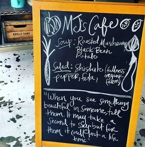 """Photo of MJ's Cafe  by <a href=""""/members/profile/kcotton"""">kcotton</a> <br/>Wonderful place to eat and hang out with good people <br/> September 13, 2017  - <a href='/contact/abuse/image/51710/304077'>Report</a>"""