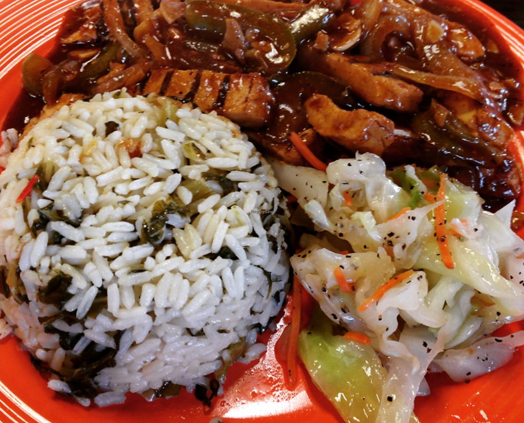 """Photo of Caribbean Spice  by <a href=""""/members/profile/Tigra220"""">Tigra220</a> <br/>Vegan Jamaican Jerk 'Chicken'  <br/> August 2, 2015  - <a href='/contact/abuse/image/51740/189719'>Report</a>"""