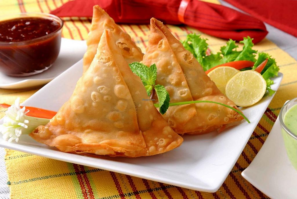"""Photo of Planet Vegis  by <a href=""""/members/profile/RobertLim"""">RobertLim</a> <br/>we are now serving Samosa (Indian), served with Tamarine sauce <br/> February 5, 2015  - <a href='/contact/abuse/image/51749/92295'>Report</a>"""