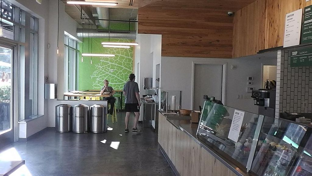 """Photo of sweetgreen - Wilson Blvd  by <a href=""""/members/profile/kenvegan"""">kenvegan</a> <br/>Inside Sweetgreen <br/> September 27, 2014  - <a href='/contact/abuse/image/51750/81388'>Report</a>"""