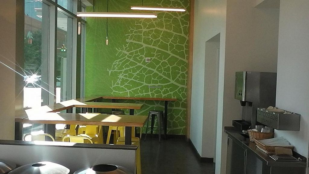 """Photo of sweetgreen - Wilson Blvd  by <a href=""""/members/profile/kenvegan"""">kenvegan</a> <br/>Inside Sweetgreen <br/> September 27, 2014  - <a href='/contact/abuse/image/51750/81390'>Report</a>"""