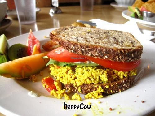 """Photo of CLOSED: Le Cagibi  by <a href=""""/members/profile/Babette"""">Babette</a> <br/>Breakfast sandwich, made with tofu upon request <br/> April 6, 2013  - <a href='/contact/abuse/image/5179/46573'>Report</a>"""