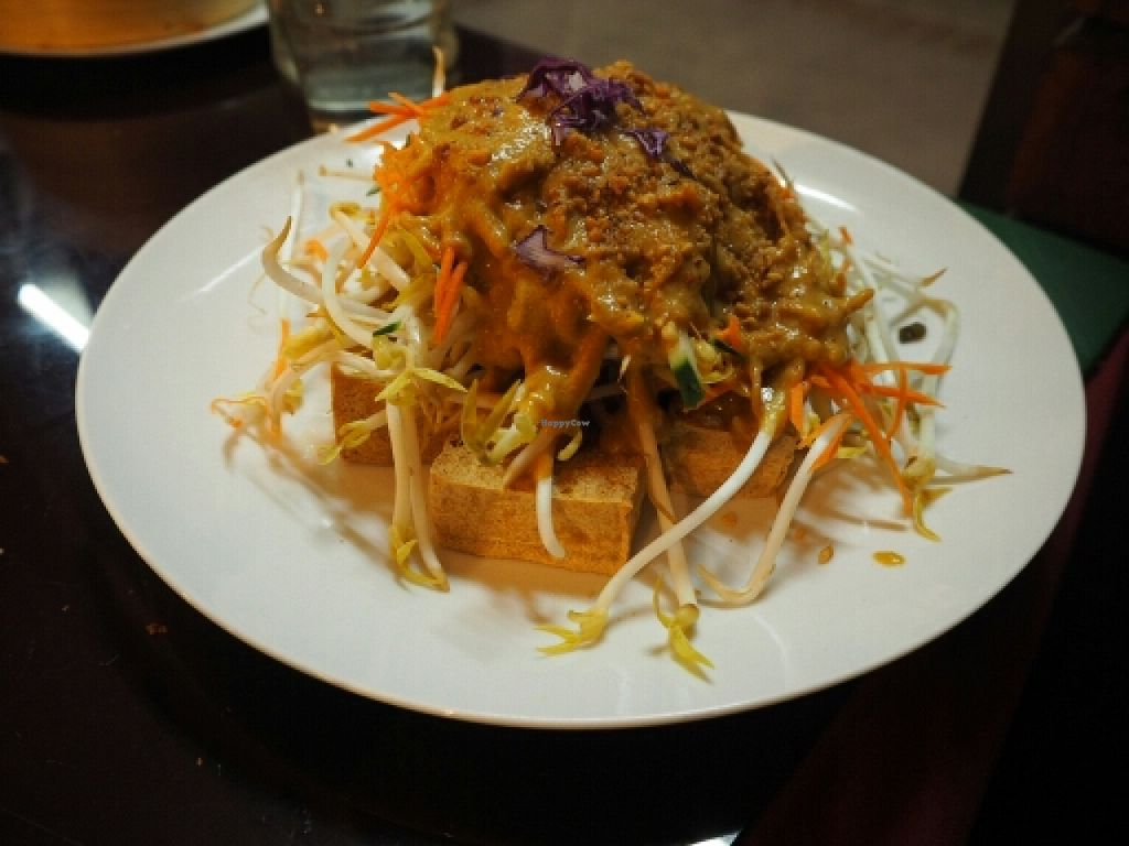 """Photo of Zenhouse Vegetarian Fusion  by <a href=""""/members/profile/JanineBarthel"""">JanineBarthel</a> <br/>GF tofu salad <br/> March 3, 2016  - <a href='/contact/abuse/image/51835/138590'>Report</a>"""