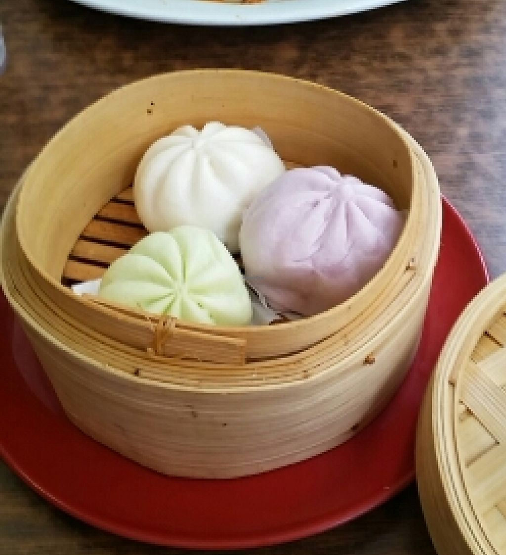 """Photo of Zenhouse Vegetarian Fusion  by <a href=""""/members/profile/peacewithinthepineal"""">peacewithinthepineal</a> <br/>steamed buns and eggplant curry  <br/> March 28, 2016  - <a href='/contact/abuse/image/51835/254809'>Report</a>"""