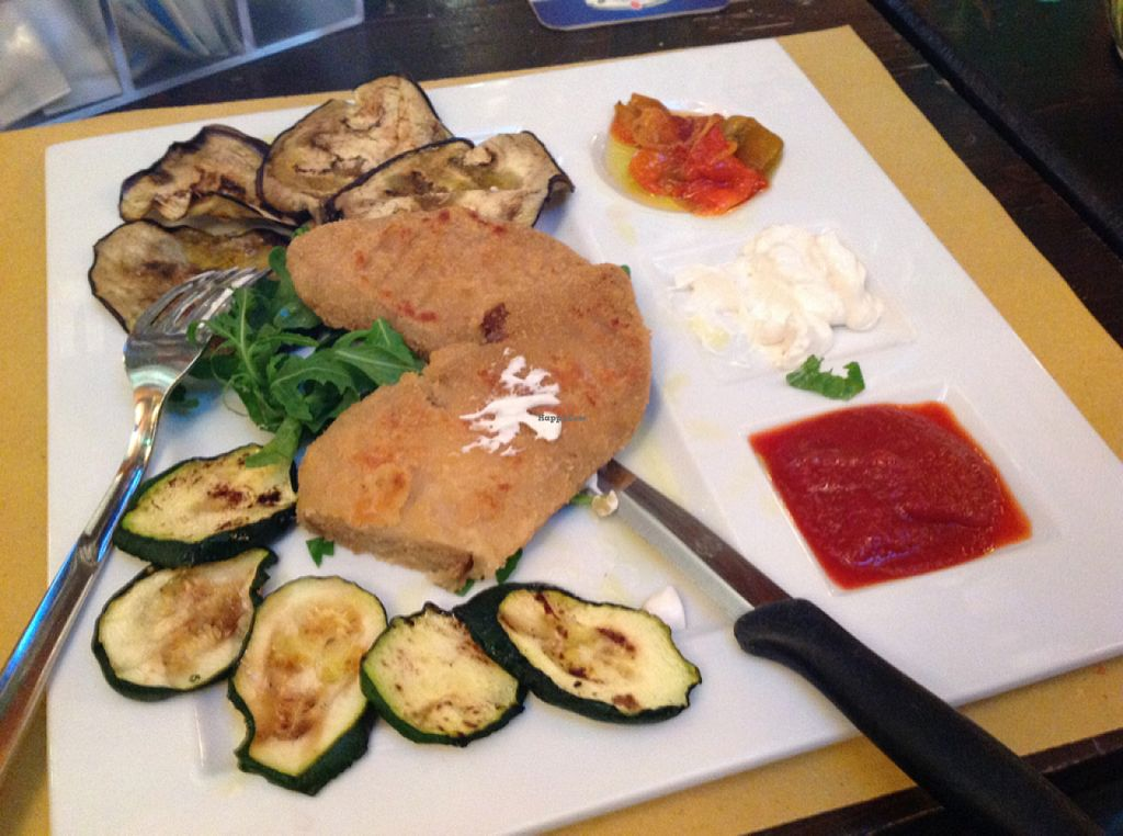 """Photo of REMOVED: Shamrock  by <a href=""""/members/profile/AliMatta"""">AliMatta</a> <br/>Seitanschnitzel with vegan mayo and veggies <br/> August 6, 2015  - <a href='/contact/abuse/image/51838/112511'>Report</a>"""