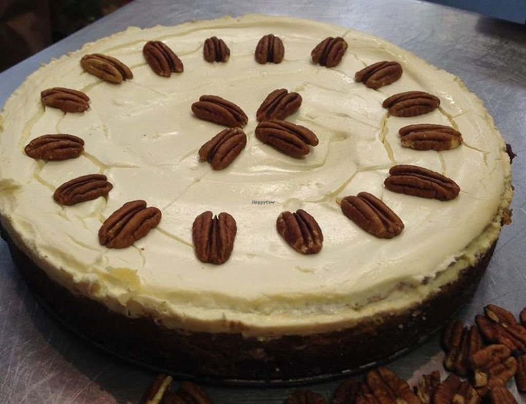"""Photo of Three Crazy Ladies  by <a href=""""/members/profile/community"""">community</a> <br/>Pumpkin Cheesecake with Pecans <br/> October 1, 2014  - <a href='/contact/abuse/image/51844/81863'>Report</a>"""