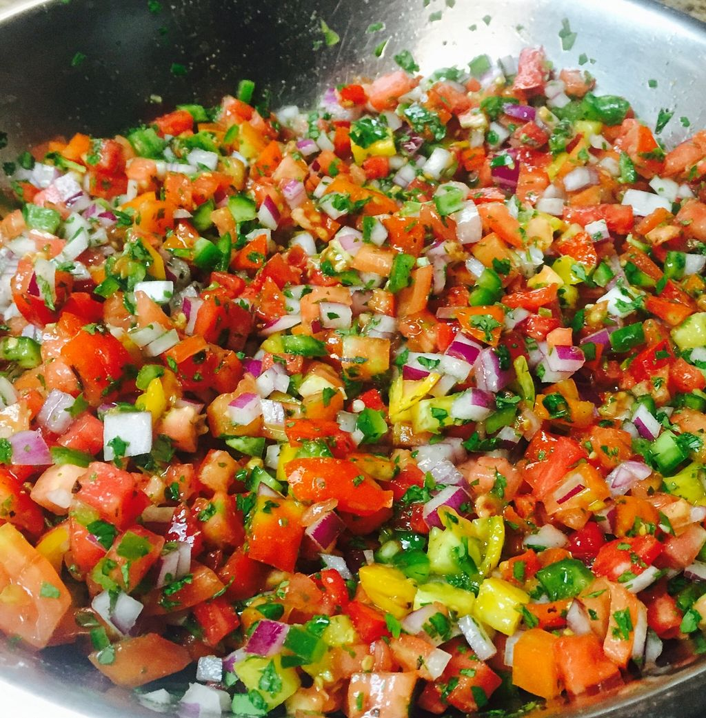 """Photo of Hidden Julles Cafe  by <a href=""""/members/profile/AaronLynch"""">AaronLynch</a> <br/>Fresh black crim heirloom salsa <br/> September 12, 2015  - <a href='/contact/abuse/image/51885/117457'>Report</a>"""