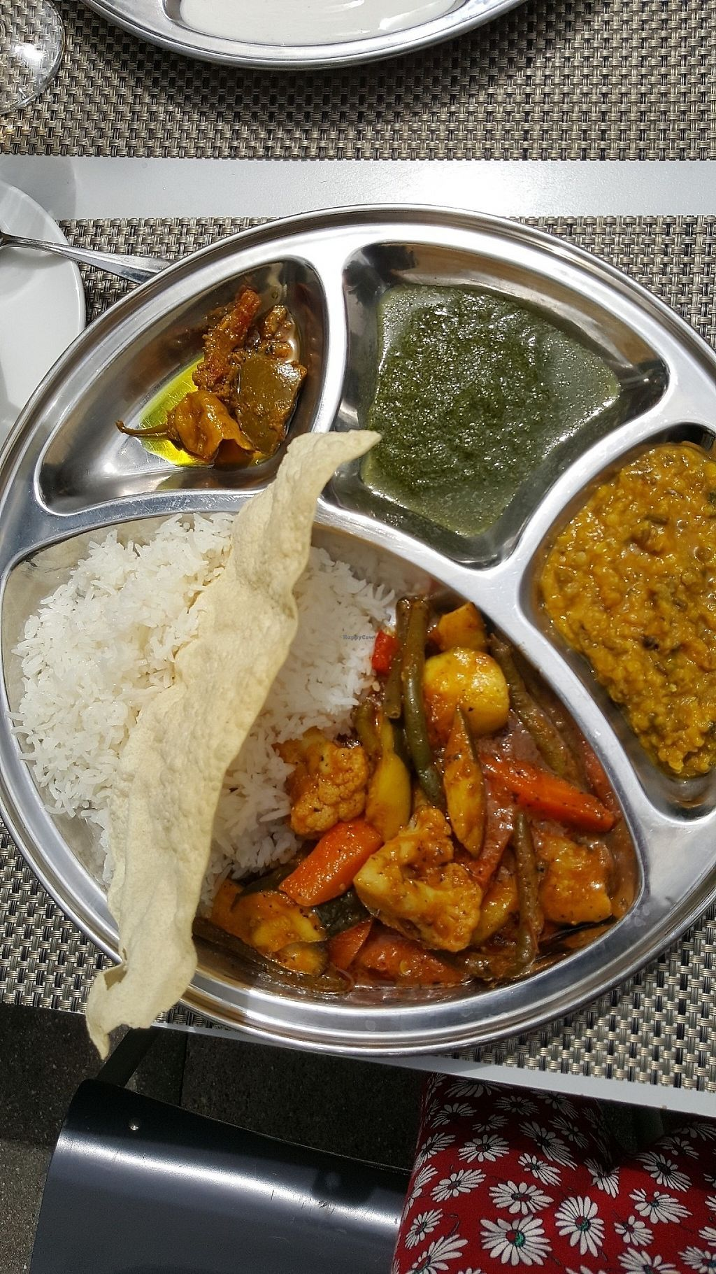 """Photo of Okra  by <a href=""""/members/profile/suki"""">suki</a> <br/>vegan mixed vegetables with dhal <br/> May 15, 2017  - <a href='/contact/abuse/image/51913/259099'>Report</a>"""