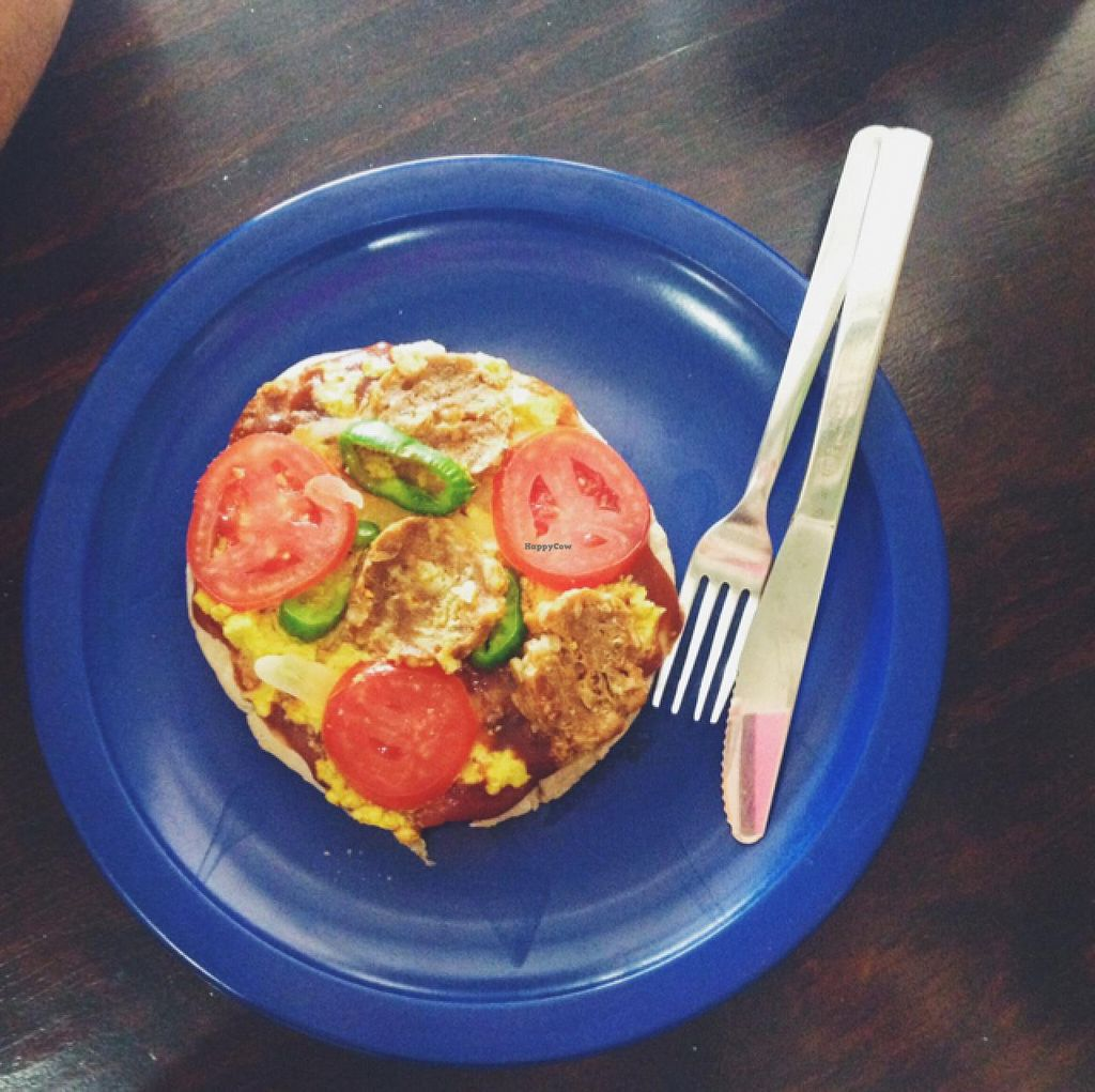 """Photo of Go Vegan  by <a href=""""/members/profile/MO.MARIEL"""">MO.MARIEL</a> <br/>vegan pizza <br/> February 26, 2015  - <a href='/contact/abuse/image/51922/94259'>Report</a>"""